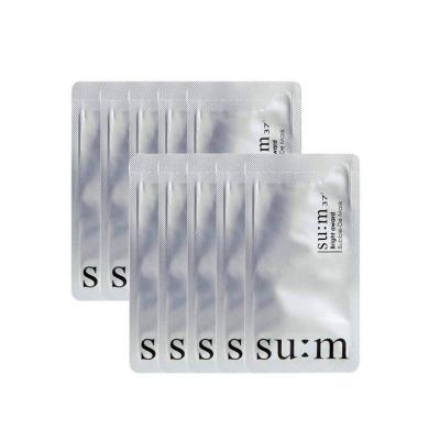 韓國 蘇秘37°呼吸泡泡深沉清潔面膜小樣  清潔 10片/袋