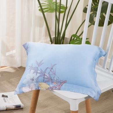 LOVO家紡 護腰枕抱枕靠墊枕頭枕芯萊賽爾天絲面料
