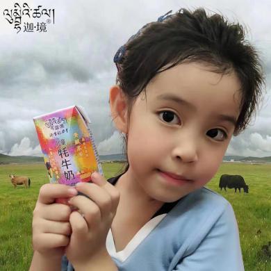 青藏祁連 零添加兒童原味牦牛奶200ml×10盒/箱
