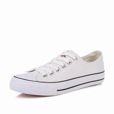人本經典帆布鞋夏季透氣男鞋情侶低幫布鞋韓版休閑板鞋網紅鞋子潮171