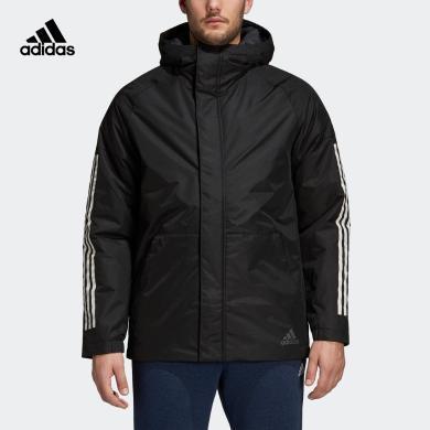 Adidas阿迪達斯棉衣男2019冬季新款棉襖運動棉服外套CY8624