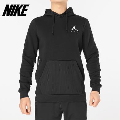 Nike/耐克男子AIR JORDAN連帽運動衛衣針織套頭衫939987-010