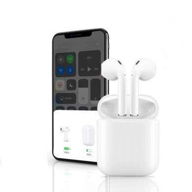 自帶彈窗藍牙耳機5.0無線觸摸藍牙耳機帶充電倉