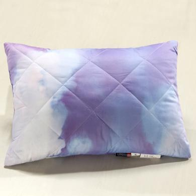 LOVO家紡 柔軟護頸兒童枕親膚全棉面料 顏色隨機發貨