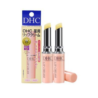【支持購物卡】2支*DHC 日本 蝶翠詩 橄欖潤唇膏 1.5g