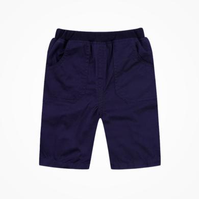 丑丑嬰幼夏季男童中褲  男寶寶新款梭織中褲