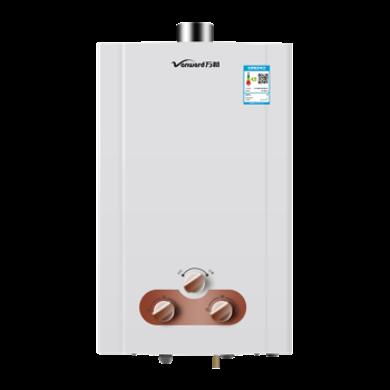 萬和(Vanward) 8升強排式燃氣熱水器四季型三段火力調節 不可裝浴室內 天然氣 8升 JSQ16-8C6(三級能效)
