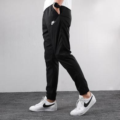 Nike耐克男褲秋季運動褲收口小腳褲梭織長褲潮AR2369-010
