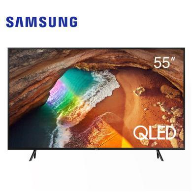 三星(SAMSUNG)Q60 55英寸QLED量子点 4K超高清 HDR 物联 人工智能网络液晶电视机 QA55Q60RAJXXZ
