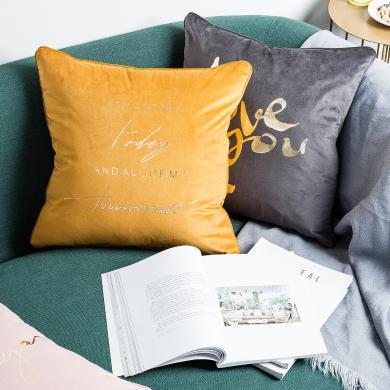 摩登主婦北歐風布藝抱枕沙發靠枕套簡約現代辦公室靠背床頭枕靠墊