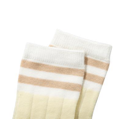 阿福貝貝嬰幼兒寶寶襪1-3歲松口春秋襪子純棉兒童襪不起球不褪色