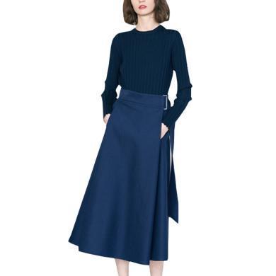 秋季套裝洋氣時尚減齡女裝2019新款潮修身顯瘦氣質毛衣裙子兩件套