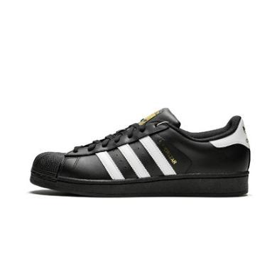 Adidas阿迪達斯男女貝殼頭低幫休閑運動板鞋B27140