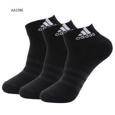 Adidas阿迪達斯男女運動短襪AA2286