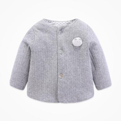丑丑嬰幼秋冬女寶寶保暖外套 女童新款加棉上衣