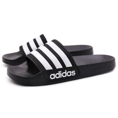 Adidas阿迪达斯2019秋季新款?#20449;?#36816;动户外凉拖鞋AQ1701