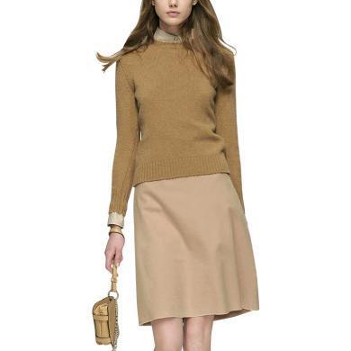 毛衣裙子时尚两件套欧洲站女士2019秋季新款洋气套装针织衫套装裙