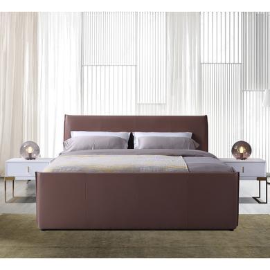 皇家愛慕現代歐式 簡約 時尚真皮大床 結婚床