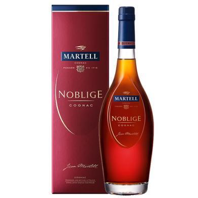 品悦洋酒 法国(Martell)洋酒 原瓶进口洋酒 马爹利名士干邑酒700ml 洋酒包邮