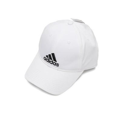 阿迪達斯男女休閑戶外白色潮棒球帽S98150