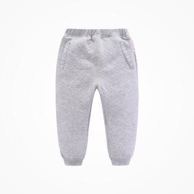 丑丑婴幼秋冬男宝宝针织长裤 男童新款保暖长裤