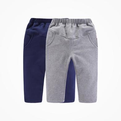 丑丑婴幼秋冬男宝宝针织长裤 男童新款长裤