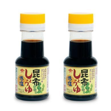 【2瓶】日本长工 昆布?#33073;?#23156;儿酱油 ?#33073;?#20943;盐海带 婴幼儿宝宝调味料 100ml/瓶