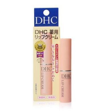 【支持购物卡】【2支】日本DHC橄榄系列护唇膏 天然无色保湿滋润 1.5g/支*2支