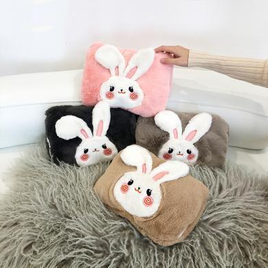 羞羞兔防爆充电热水袋可爱兔子暖手宝电暖宝暖宝宝