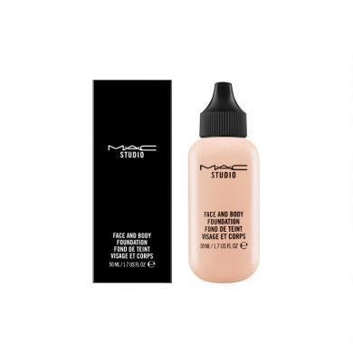 MAC 魅可 定制水漾輕盈奶瓶粉底液 30ml  保濕持久不易脫妝-N1