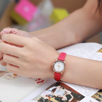 聚利时正品女表简约时尚潮流新款学生石英表复古女士手表JA-723