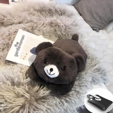 羞羞兔可愛小熊充電熱水袋防爆電暖寶暖手寶電暖袋