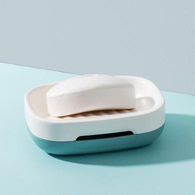 瀝水肥皂盒 雙層創意香皂盒浴室手工皂托衛生間放肥皂置物架家用