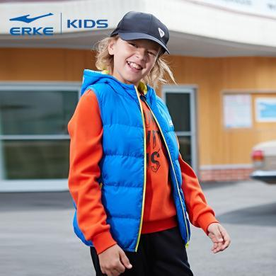 鴻星爾克 童裝新款中大童馬甲外套冬款保暖兒童背心男童棉馬甲保暖馬甲外套童裝兒童馬甲男童馬甲外套 63218416047