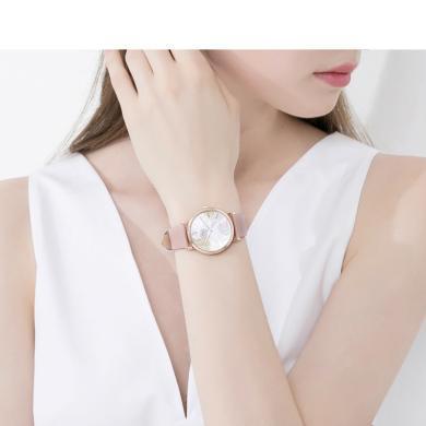 程瀟同款聚利時手表女韓風彩色葉子時尚石英防水學生女表JA-1090
