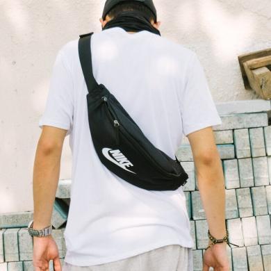 NIKE耐克运动腰包女男BA5750户外多功能斜挎包潮包跑步腰包单肩包