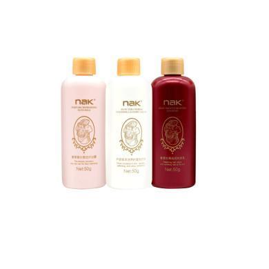 NAK 洗护旅行三件套装-洗发乳沐浴露洗衣液50g
