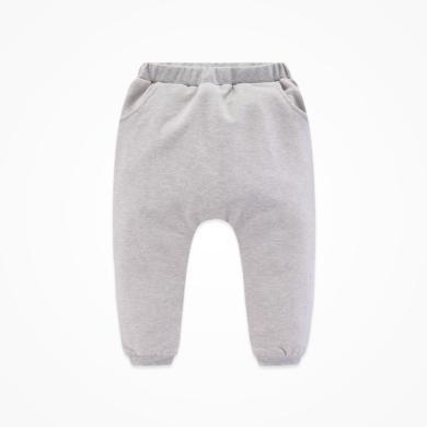 丑丑婴幼男宝宝秋冬保暖哈伦长裤  男童新款长裤