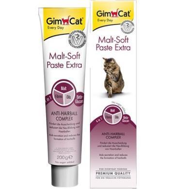 德国GIMBORN俊宝特级麦芽化毛营养膏200g*2成猫幼猫