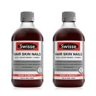 【支持購物卡】2瓶*澳大利亞 Swisse 膠原蛋白液 500ml/瓶