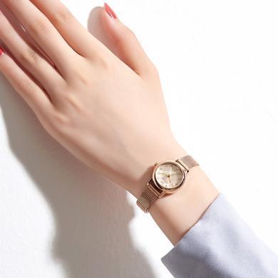 聚利時手表女小表盤鋼帶休閑簡約氣質女士手表防水石英表JA-1185