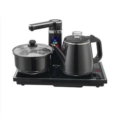 心好 電熱水壺 智能遙控304防燙燒水壺 液晶顯示全自動上水電茶壺尊享2 XH-ZX2 1.0L電水壺 黑色