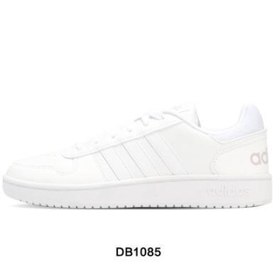 Adidas阿迪達斯NEO男鞋低幫耐磨運動休閑板鞋DB1085