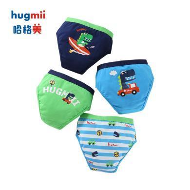 B2-19兒童內褲4條裝hugmii/哈格美