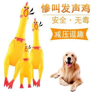 企菲 宠物狗发声玩具 狗狗惨叫鸡怪叫鸡 猫狗玩具整蛊尖叫鸡 狗狗玩具cwry70