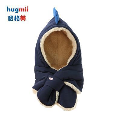 儿童简约动物造型帽子?#20449;?#22810;款可选hugmii/哈格美