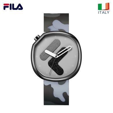 FILA斐樂手表男女情侶表時尚潮流運動大表盤腕表石英表308