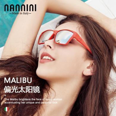 【支持購物卡】意大利NANNINI納尼尼眼鏡 太陽鏡墨鏡 偏光眼鏡 防紫外線復古太陽鏡 MALIBU