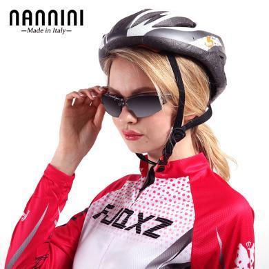 支持購物卡】意大利NANNINI納尼尼眼鏡 男士運動太陽鏡小框偏光女墨鏡防紫外線眼鏡 N-WIND