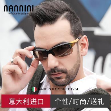 【支持購物卡】意大利NANNINI納尼尼眼鏡 太陽鏡  司機墨鏡 輕薄運動眼鏡   M4-T